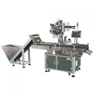 Automatic Pouch Card Labeling Machine
