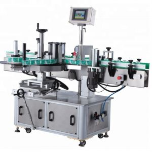 Can Top Plane Adheisve Labeling Machine