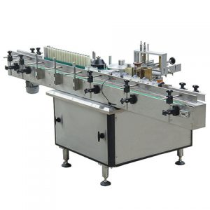 Plastic Bag Top And Bottom Labeling Machine