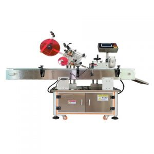 Automatic Spray Bottle Side Label Applicator