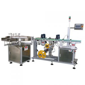 High Accuracy Automatic Tapered Bottle Labeling Machine