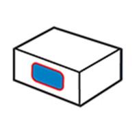 Máy dán nhãn bên thùng carton